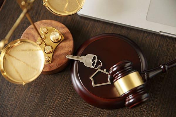 landlord lawyer gavel